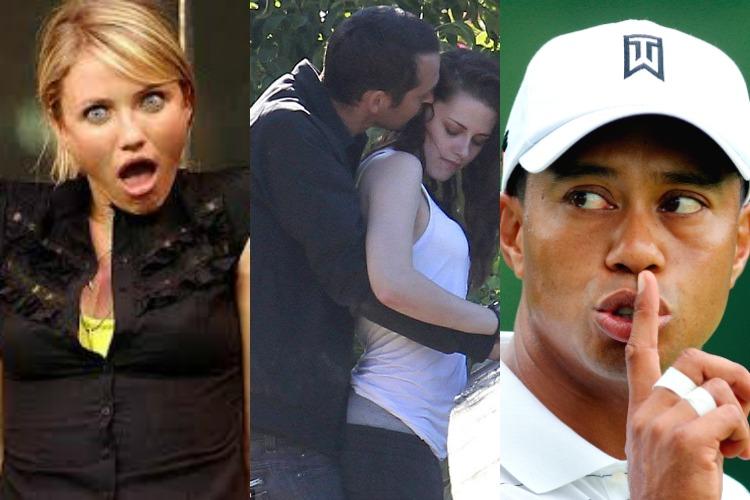 Celebrity Affair Collage