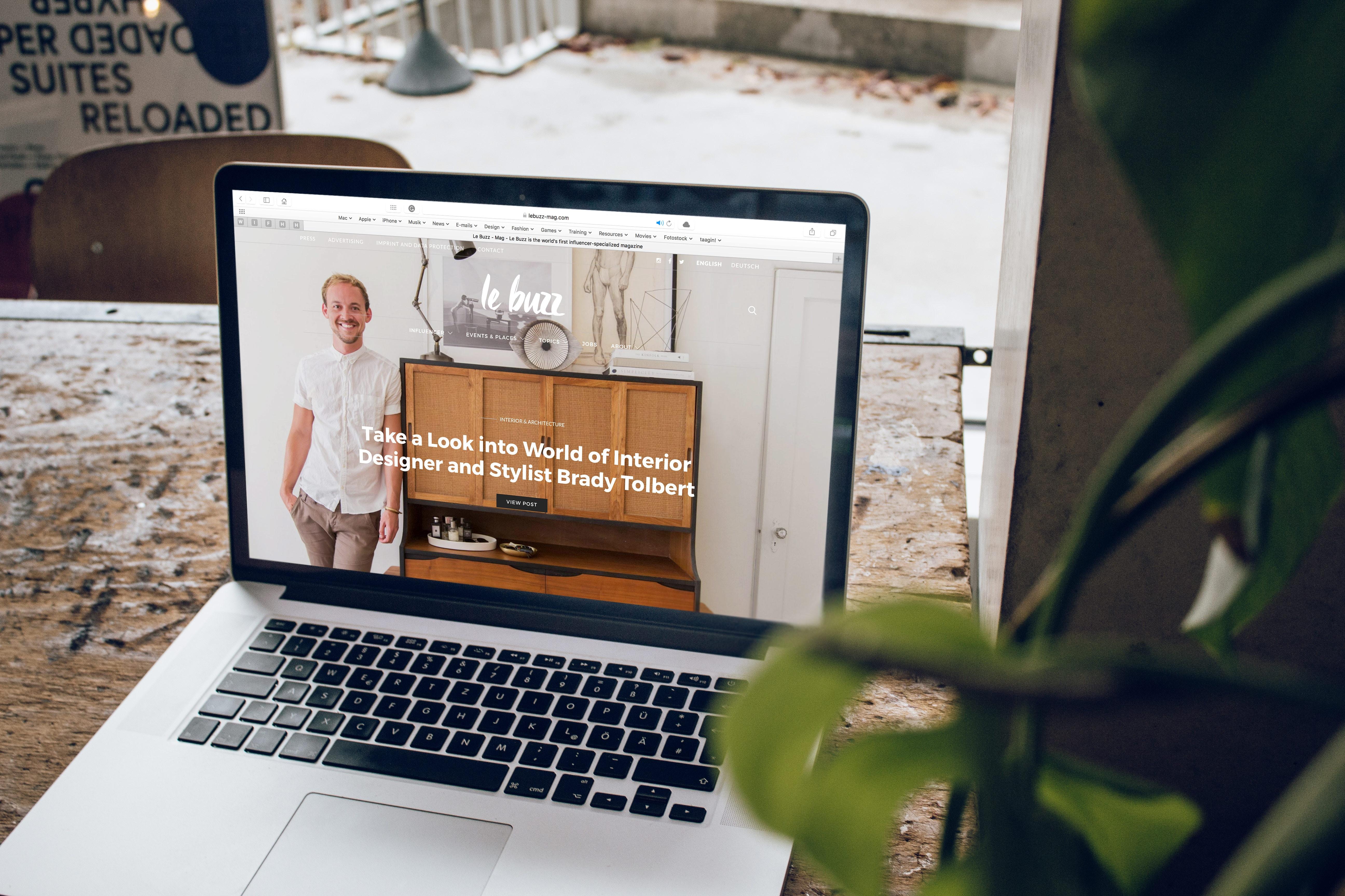 how to write a business blog